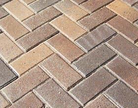 Herringbone Block Paving Pattern
